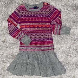 Beautiful sweater dress from Gap Kids